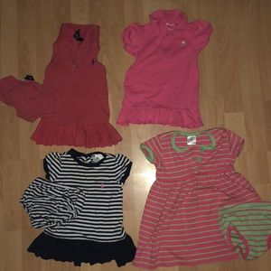 Bundle of preppy summer 9 month clothing